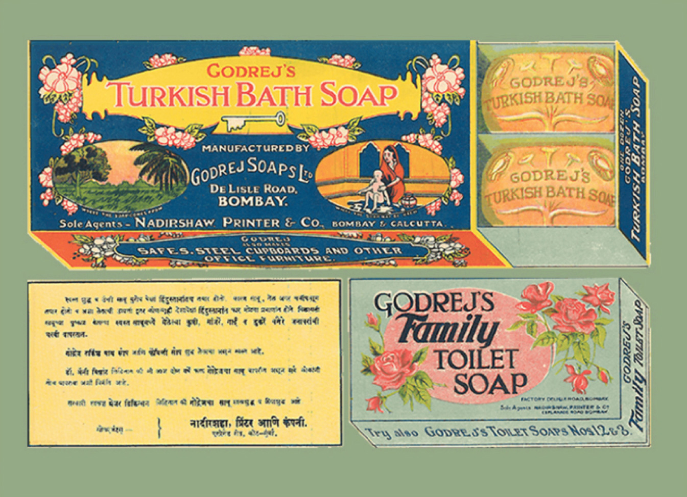 World's first vegetable oil soap